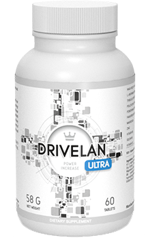 Drivelan Ultra – Poczuj się znowu jak facet i stań na wysokości zadania! Innowacyjna formuła, prosty skład i maksymalizacja rezultatów!