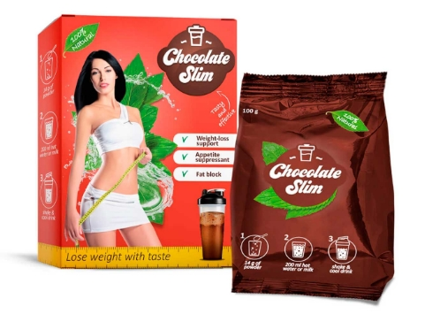 Chocolate Slim i napełniaj się niezwykłym smakiem ulubionej czekolady i równolegle spalaj tłuszcz.