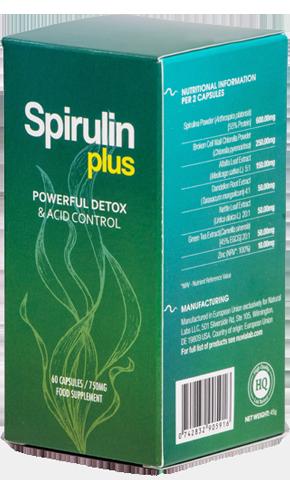 Spirulin Plus- Efektywny detoks bez morderczych głodówek? Skuteczne odkwaszanie organizmu bez katorżniczych wyrzeczeń? Tak, to realne!