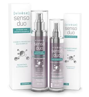 Vivese Senso Duo Oil 2 – Masz dość tego, że każdego dnia Twoja fryzura jest coraz mniej atrakcyjna? Koniec z wypadaniem włosów!