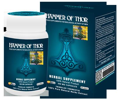 Hammer of Thor – świetny produkt, który poradzi sobie z każdym zaburzeniem wzwodu.